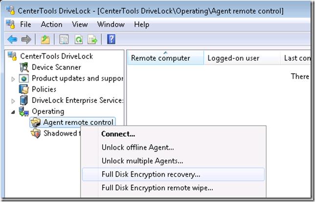 How To: Erstellung einer Notfall-CD mit DriveLock und Windows PE
