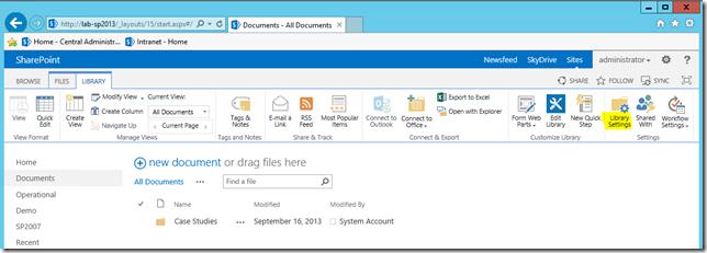 Versionierung in SharePoint aktivieren