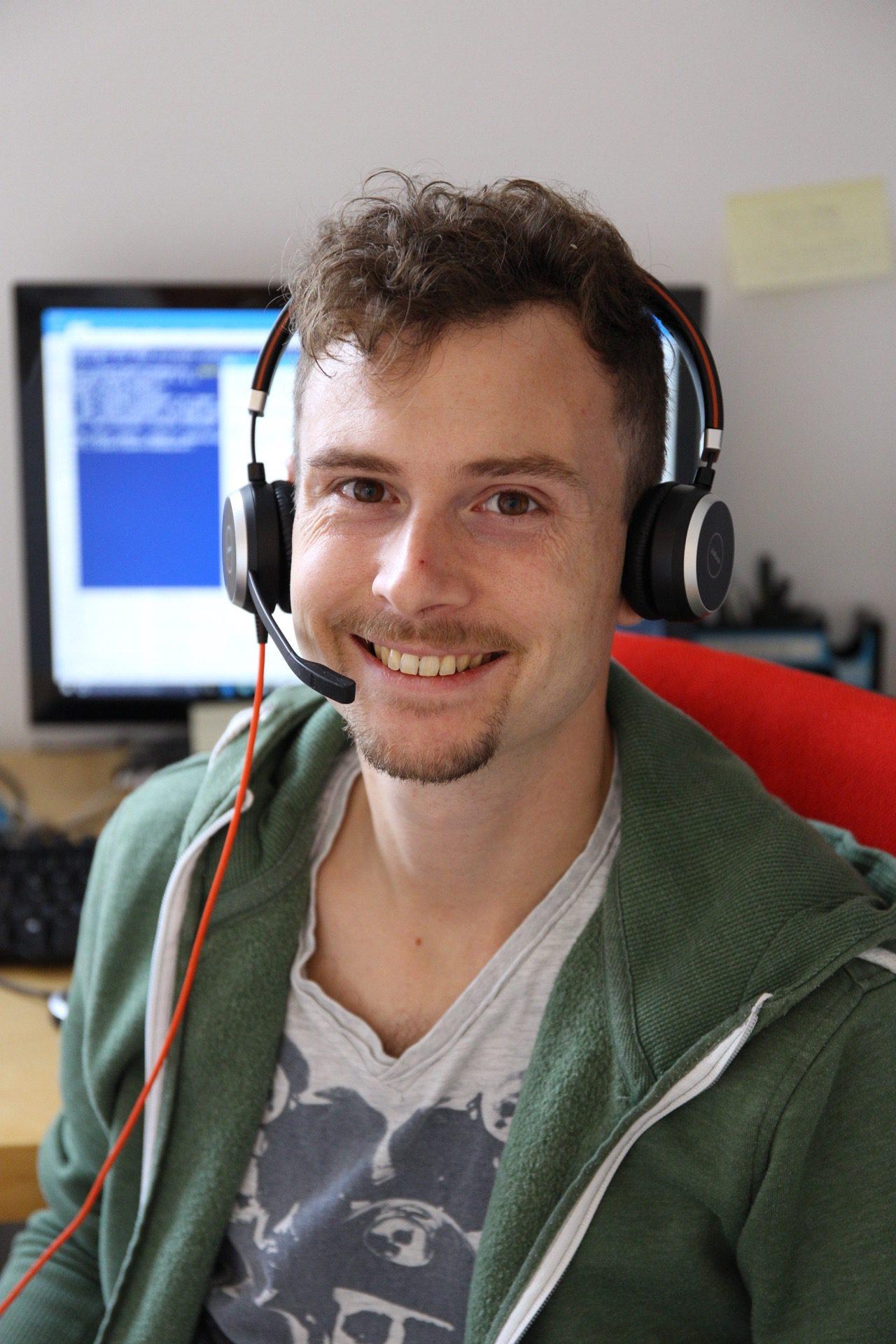 Dennis Hobmaier per Skype