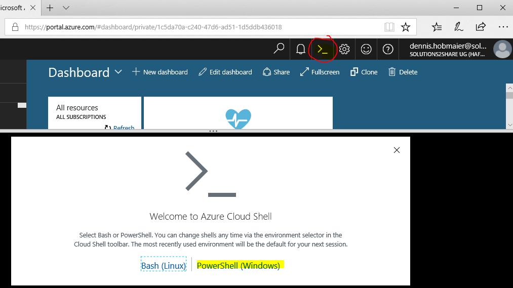 Azure Cloud Shell - SharePoint und Office 365 Blog