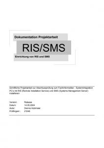 Dokumentation RIS-SMS