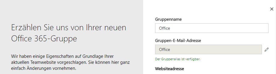 "SharePoint Classic Site nach Groups konvertieren ""Groupify"""