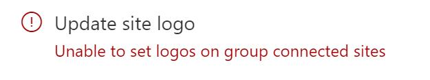 Site Design Logo Error