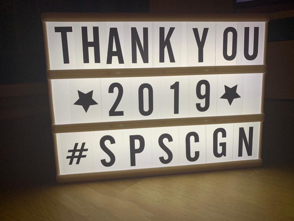 Thank you SPSCGN 2019