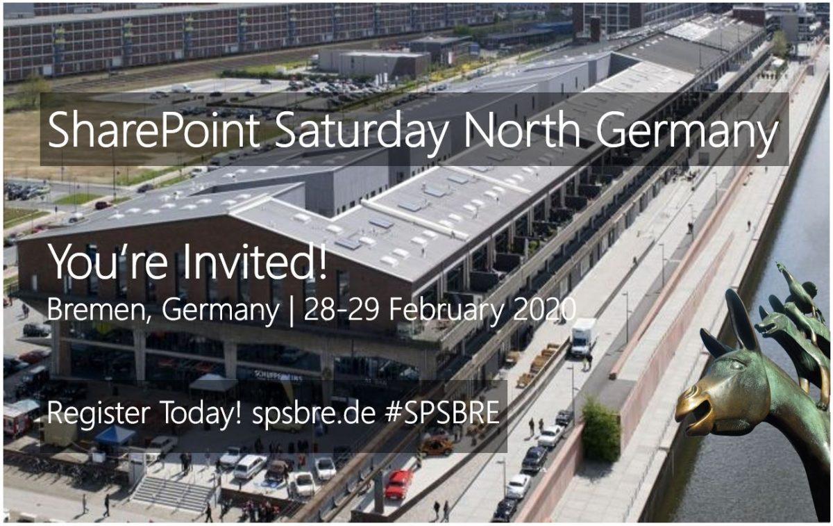 SharePoint Saturday Bremen 2020