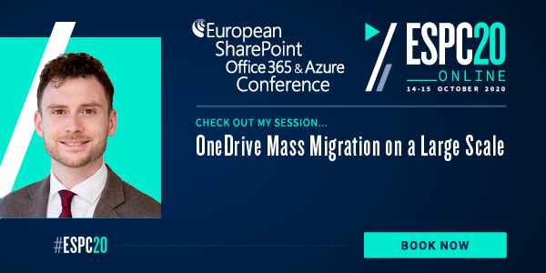 ESPC20: OneDrive Mass Migration on a Large Scale