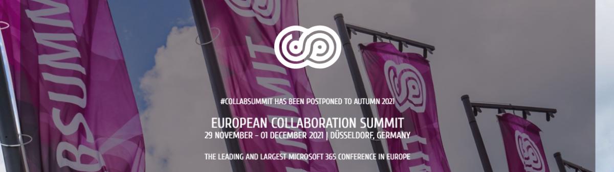European Collaboration Summit 2021